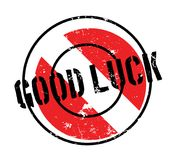 Good Luck rubber stamp Stock Image