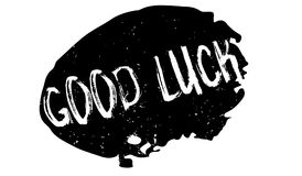 Good Luck rubber stamp Stock Images