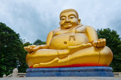 Good luck smiling Buddha, Chinese style Stock Photos