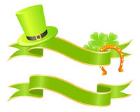 Good luck or st. Patrick's day banner Stock Photography