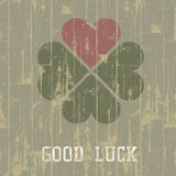 Good luck symbol. Royalty Free Stock Image