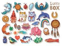 Good Luck symbols Stock Photo