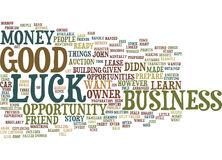 Good Luck Text Background  Word Cloud Concept Stock Images