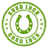 Good luck vector stamp Stock Photo