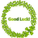 Good Luck Wreath Stock Images