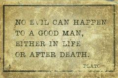 Good man Plato Stock Images