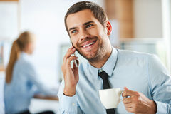 Always in good mood. Royalty Free Stock Photo