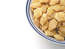 Good Morning. Breakfast a bowl of cerial stock photography