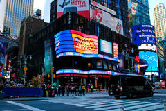 Good Morning America studios NYC. Studio for Good Morning America in Manhattan, NYC royalty free stock photography