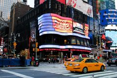 Good Morning America studios NYC. Studio for Good Morning America in Manhattan, NYC stock photo