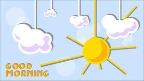 Good morning background Stock Photo
