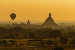 Good morning, Bagan Royalty Free Stock Images