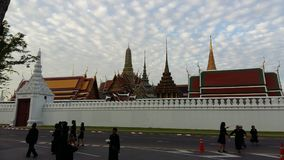 GOOD MORNING BKK. Grand Palace Bkk royalty free stock image