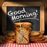 Good Morning - Breakfast with Rusks Stock Images