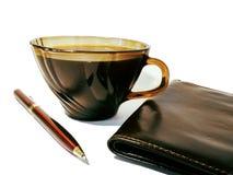 Good morning businessman stock photography