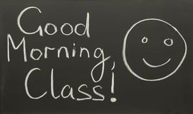 Good morning, class! Stock Photos