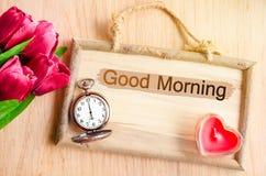 Good morning. Stock Photo