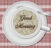 Good morning coffee Royalty Free Stock Photography