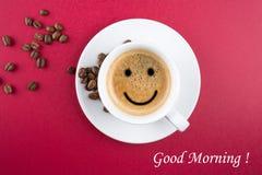 Good morning coffee cup Stock Photos