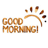 Good morning coffee Stock Image
