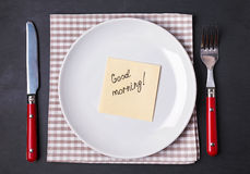 Good morning concept. Royalty Free Stock Photo