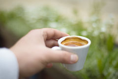 Good morning espresso Stock Photos