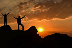 Good morning everybody. Sunrise and new day.good morning everybody Royalty Free Stock Image