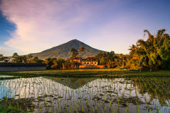 Good Morning cioyod Garut. Good Morning my Village at garut jabar indonesia Stock Images