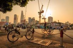 Good Morning Ho Chi Minh City Royalty Free Stock Photos