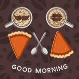 Good morning illustration Royalty Free Stock Photography