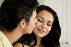A good Morning and a Kiss! Stock Photos