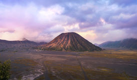 Good morning Mount Bromo. Indonesia Stock Photography