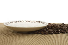 Good Morning, no Breakfast Royalty Free Stock Image