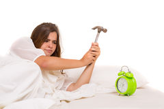 Good morning! ... or not Royalty Free Stock Image