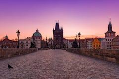 Good Morning Prague royalty free stock photo