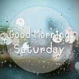 Good morning Saturday Stock Photo