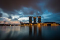 Good morning, Singapore Royalty Free Stock Photos