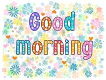 Good morning. Stock vector Royalty Free Stock Photos
