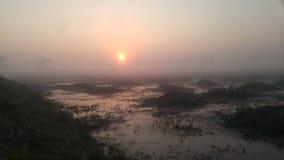 Sunrise beautiful morning day. stock images