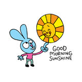 Good morning sunshine Stock Images