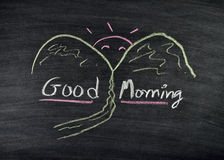 Good morning title Stock Images
