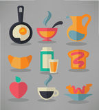 Good morning, traditional breakfast meal Stock Photography