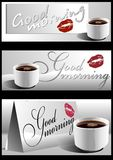 Good morning. 01 (Vector)  Royalty Free Stock Photography
