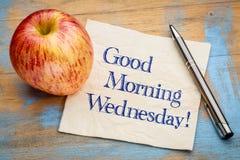 Good Morning Wednesday royalty free stock photo