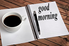 Good morning word Stock Images