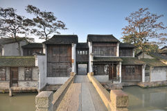 Good morning wuzhen Stock Photos