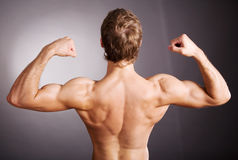 Good muscles Royalty Free Stock Image