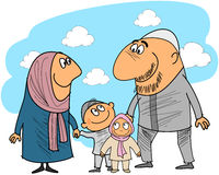 Good muslim family Royalty Free Stock Photos
