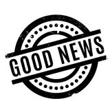 Good News rubber stamp. Grunge design with dust scratches. Effects can be easily removed for a clean, crisp look. Color is easily changed Royalty Free Stock Photos