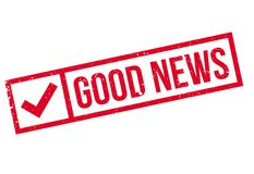Good News rubber stamp Stock Images